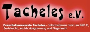 """""""Tacheles e.V."""" ruft zur bundesweiten Kampagne gegen die Aufrechnung von Mietkautionen in den Jobcentern auf"""