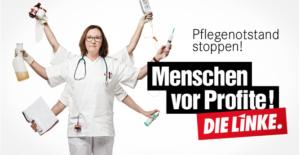 Menschen vor Profite! Den Pflegenotstand stoppen!